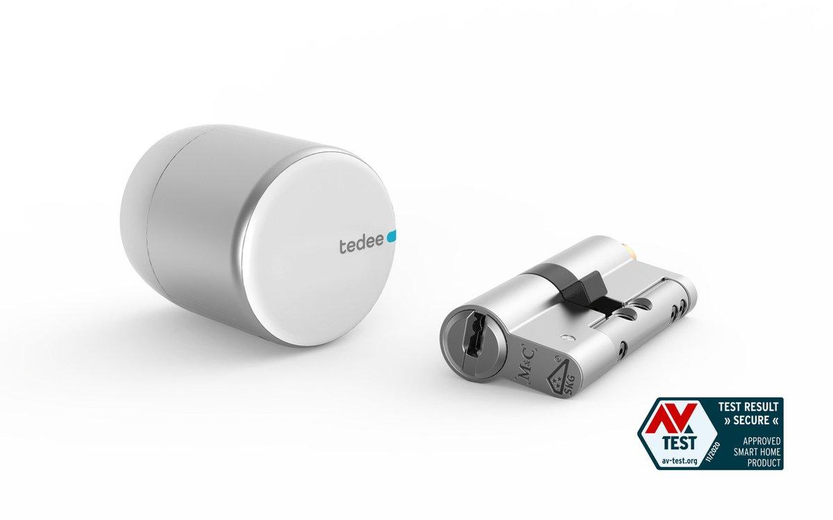 Tedee BLE premium smartlock SET2. Incl. Tedee Modulaire SKG3 cilinder.