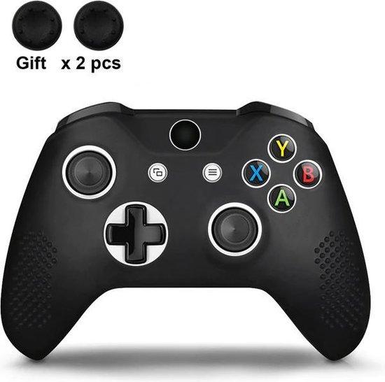 Gadgetpoint | Xbox One | Siliconen Controller Hoesjes | Zwart