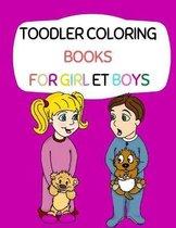 toodler coloring books for girl et boys