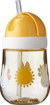 Mepal Mio – Rietjesbeker 300 ml – gegarandeerd lekvrij – Nijntje Explore – ideaal voor onderweg – drinkbeker kinderen