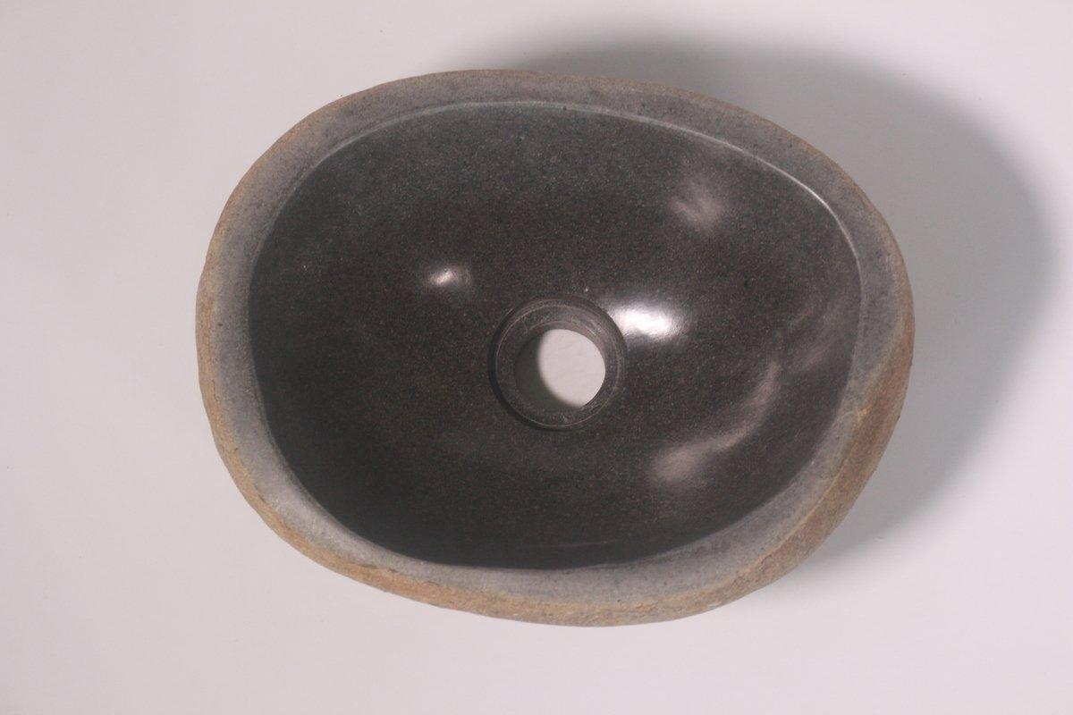 Natuurstenen waskom | DEVI-W21-239 | 29x23x12