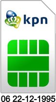 06 22-12-1995 | KPN Prepaid simkaart | Geboortedatum 22 December 1995