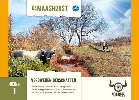 tOERbox - Maashorst Uden Brabant - Fietsen / e-bike - Spel - fietsroute - tOERen - OERgebied - Natuurgebied