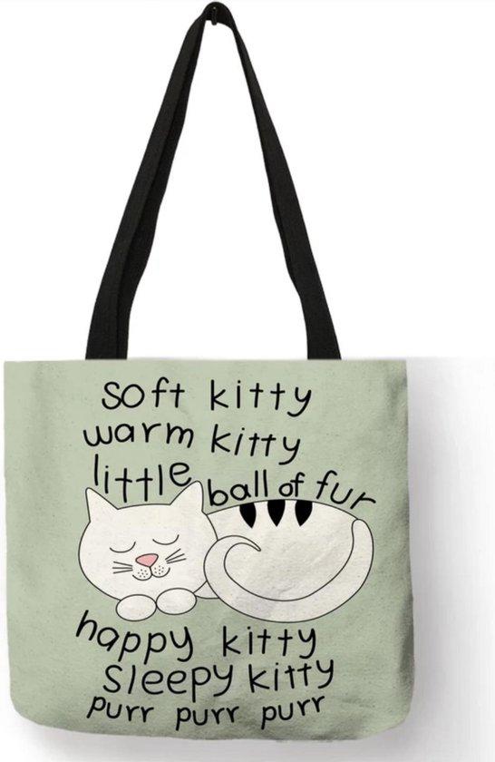Kattenhebbedingen - Tas - Kat - Poes - Voor de kattenliefhebber - Soft Kitty
