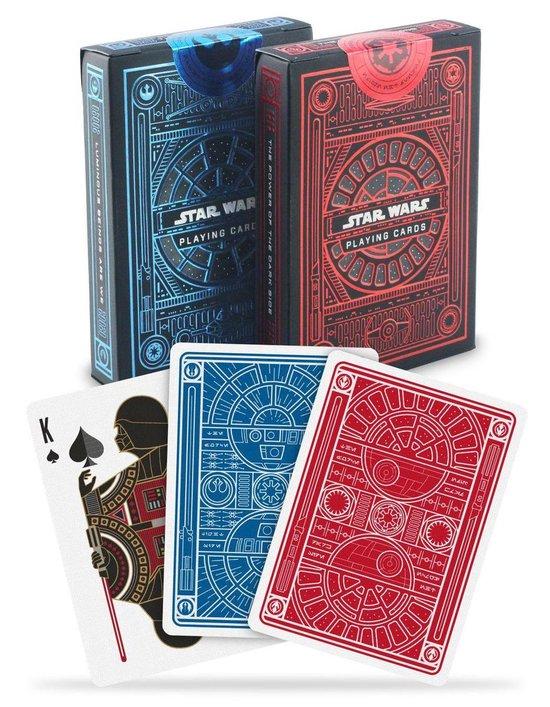 Afbeelding van het spel Star Wars Dark Side.Light Side Pokerkaarten