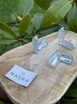 Nasra- Hoekbeschermer- Transparant voor tafel- Veiligheid voor baby en kind 12 stuks