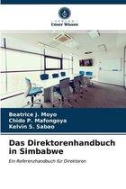 Das Direktorenhandbuch in Simbabwe