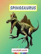 Spinosaurus Coloring book
