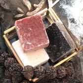 3 Amberblokjes (Jasmijn, Amber en Black musk) originele Marokkaanse geurblokjes