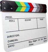 Director Clapper Board / Scene Board / Clapboard / Filmklapper - Kleur