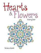 Hearts & Flowers: Coloring Book