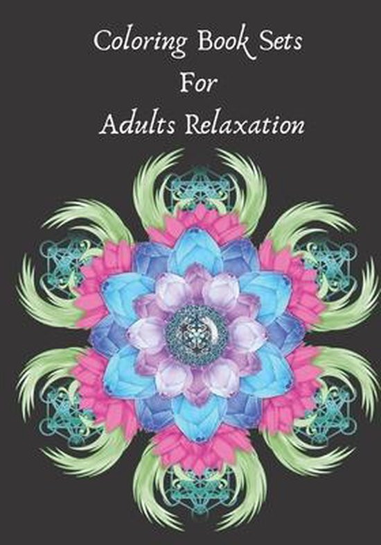 Coloring Book Sets For Adults Relaxation