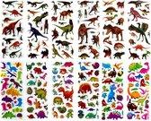 160 Stickers Dino - 12 Stickervellen Dinosaurus - Verschillende Sets - Dino Stickers - Stickers Kinderen