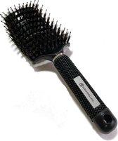 Dermarolling Big Detangle Brush Zwart   Antiklit haarborstel by Dermarolling