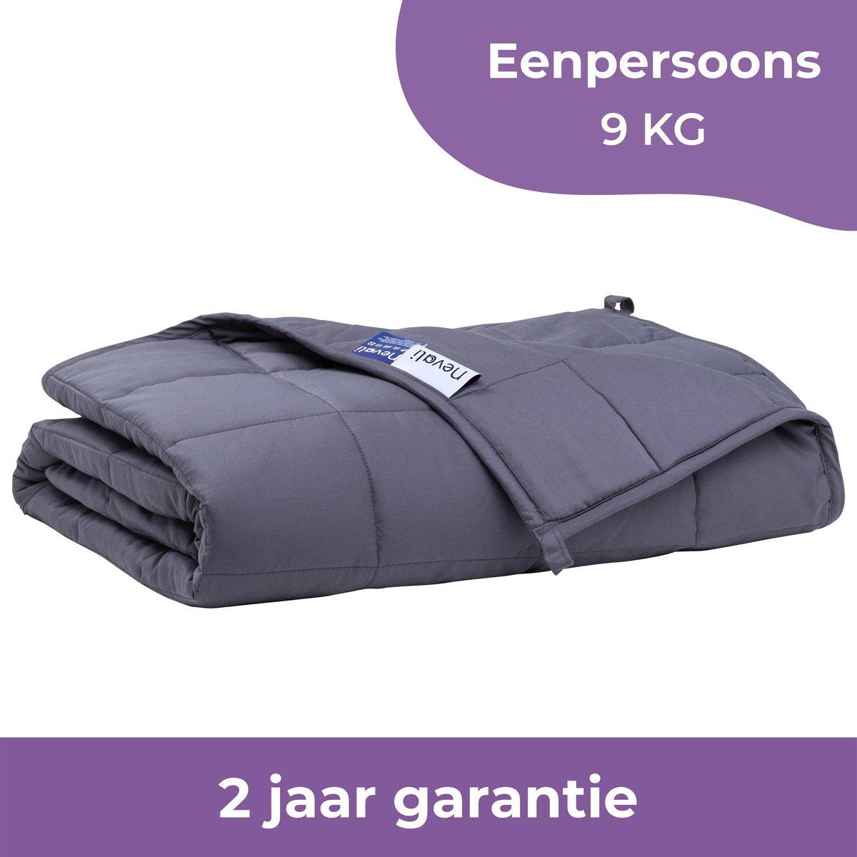 Nevali  Verzwaringsdeken 9 kg - Te gebruiken met je eigen dekbedovertrek - Verzwaarde Deken - Weight