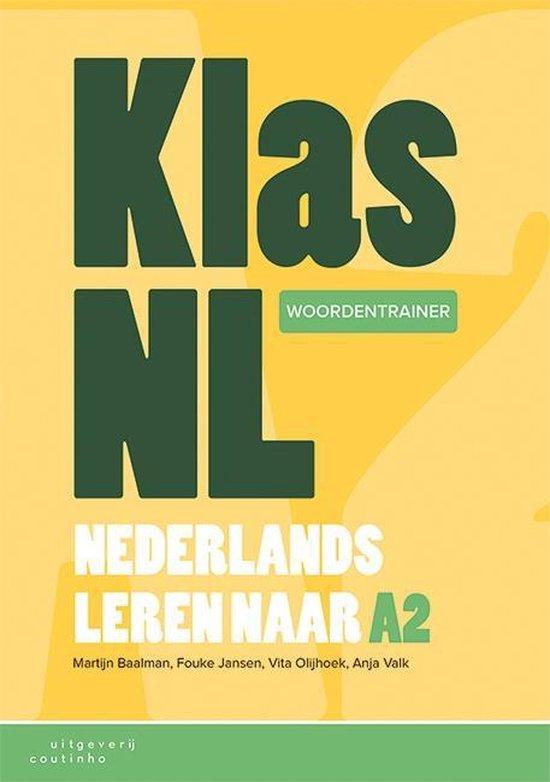 Boek cover KlasNL - Nederlands leren naar A2 - woordentrainer van Martijn Baalman (Paperback)