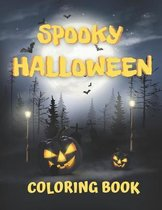 Spooky Halloween Coloring Book