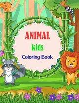 ANIMAL Kids Coloring Book
