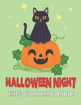 Halloween Night Kids Coloring Book: A Children Coloring Workbooks for Kids