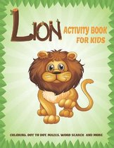 Lion Activity Book For Kids