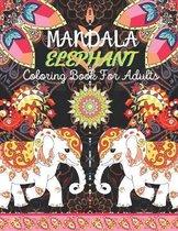 Mandala Elephant Coloring Book For Adults