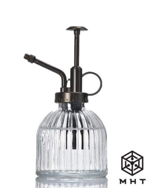 MHT Plantenspuit - Wit - Glas - Vintage