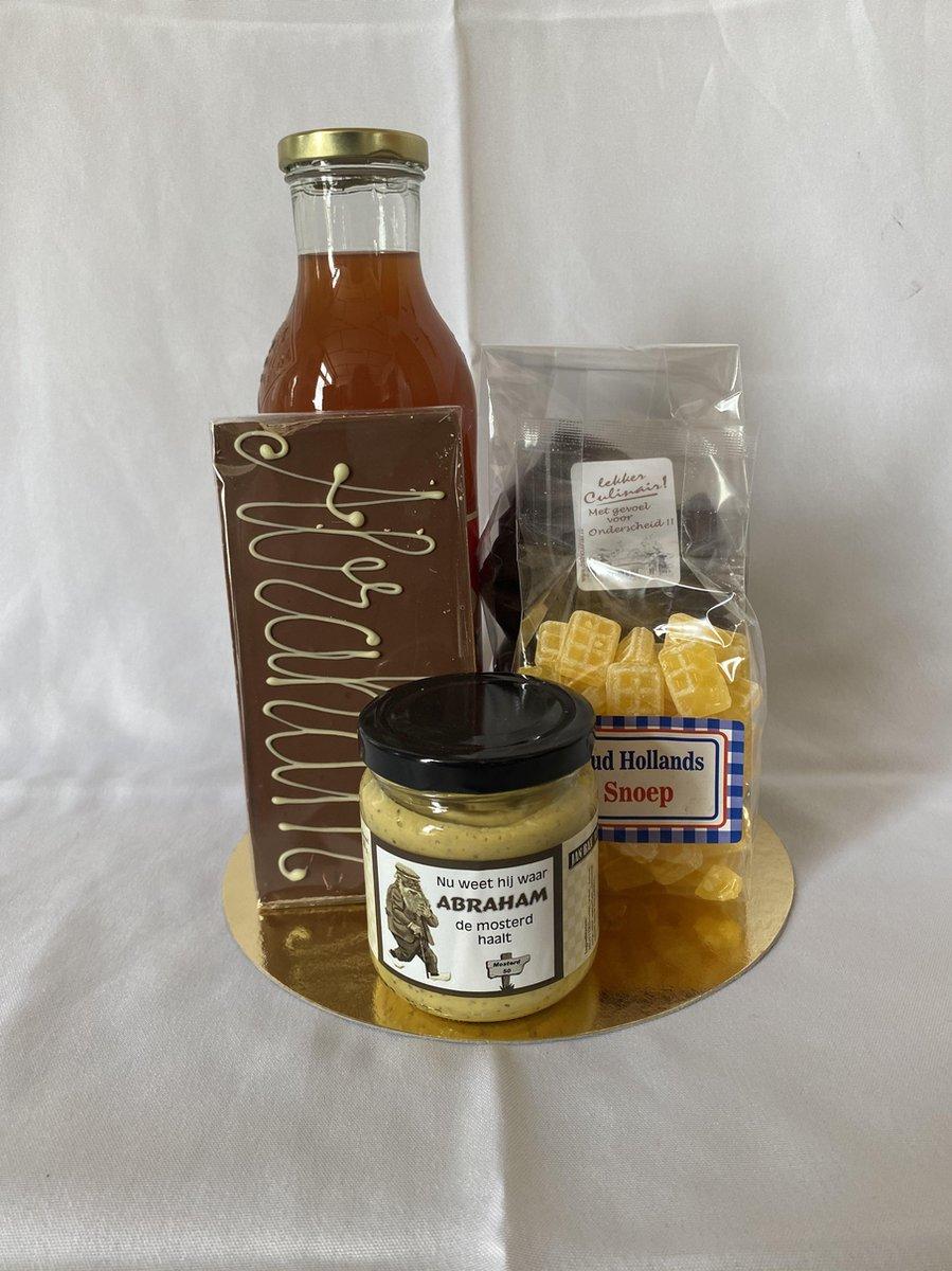 Abraham pakket -geschenkpakket- relatie geschenk - kado pakket - cadeau pakket - verjaardag - bakken