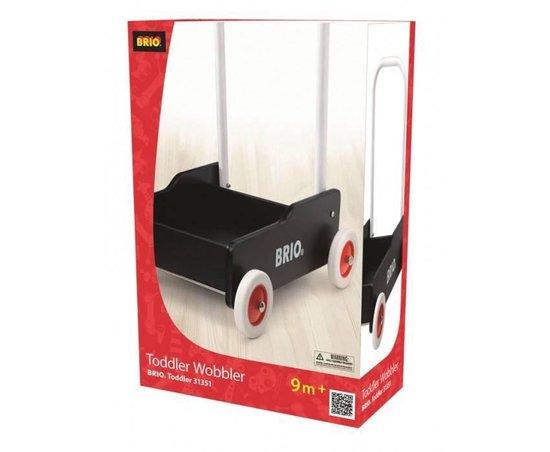 BRIO Zwarte loopwagen - 31351