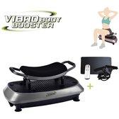 Orange Moovz Vibro Body Booster 3-in-1 trilplaat Met zitje - Full body trainer - Trainingsstoel