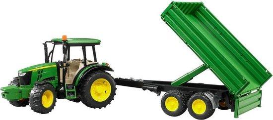 Tractor John Deere 5115M Met Aanhanger