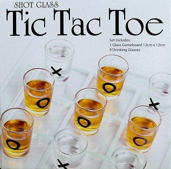 Afbeelding van het spel Mini Shot glaasjes spel Tic Tac Toe