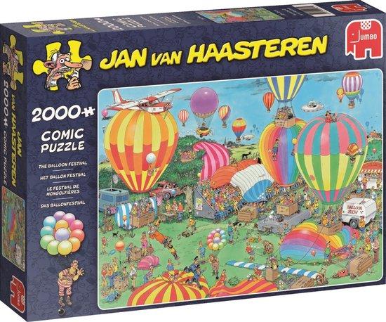 Jan van Haasteren Het Ballon Festival – Puzzel 2000 stukjes