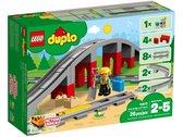 LEGO DUPLO Treinbrug en Rails - 10872