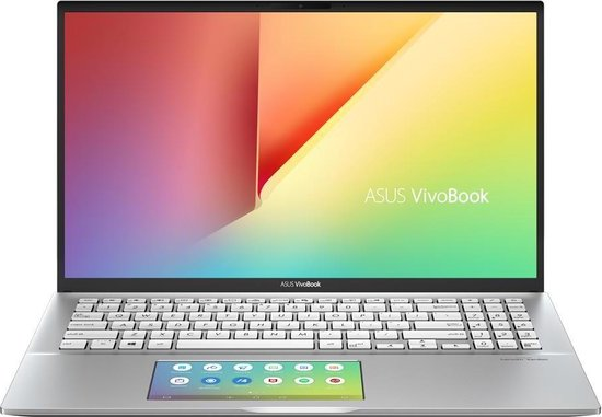 ASUS VivoBook S15 S532FL-BQ210T Notebook Zilver 39,6 cm (15.6'') 1920 x 1080 Pixels Intel® 10de generatie Core™ i5 8 GB DDR4-SDRAM 512 GB SSD NVIDIA® GeForce® MX250 Wi-Fi 5 (802.11ac) Windows 10 Home