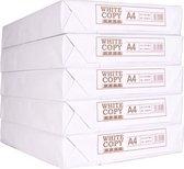 Printpapier White label A4 75 gram 5 pakken met 500 vellen