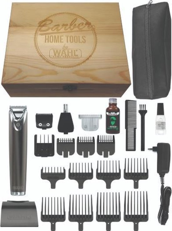 Wahl Stainless Steel Advanced Limited Edition trimmerset
