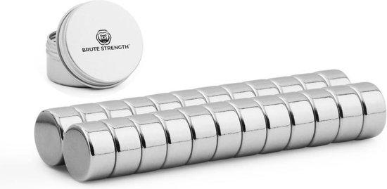 Brute Strength - Super sterke magneten - Rond - 10 x 5 mm - 20 Stuks