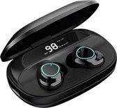 Tinderala G16- Draadloze oordopjes - Bluetooth headset  Noice Canceling  Microfoon zwart.