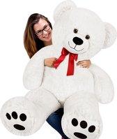 Grote Knuffelbeer - Teddybeer - knuffel - pluche  1,2 mtr groot