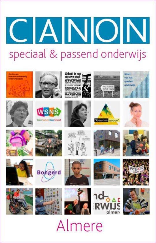 Canon speciaal & passend onderwijs Almere