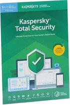 Kasperksy Total Security | 5 Apparaten | 1 Jaar | Engelse verpakking | 2020