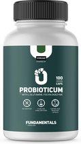 Fundamentals Probiotica - Met L-Glutamine, FOS & Digezyme - 100 Veggi Caps