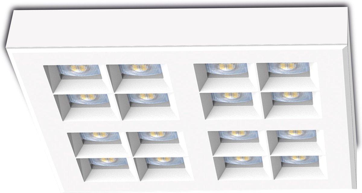 SEMO- Apera Plafondlamp opbouw wit -  Lichtkleur wit dimbaar