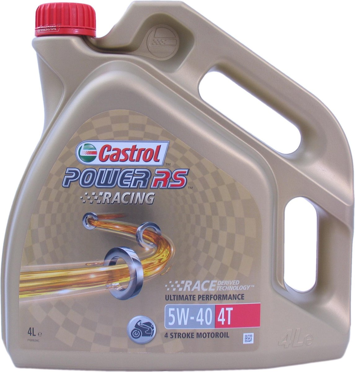 Castrol Power RS Racing 4T 5W-40 - Motorolie - 4L