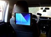 WHITE RHINO ® iPad Houder Zwart | iPad Houder Auto | Auto Hoofdsteunklem | 12.5 inch