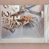 Picea Luxe A5 spiraalblok met harde kaft, gelinieerd.