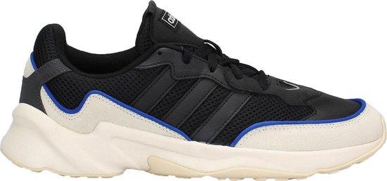 adidas 20-20 FX Sneakers - Maat 43 1/3 - Mannen - zwart/ wit/ blauw