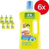 Mr. Propre Zomer Citroen - Voordeelverpakking 6 x 1L - Allesreiniger