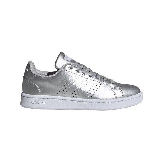 | Adidas Sneaker Laag Dames Advantage Silver