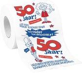 WC Papier - Toiletpapier - 50 jaar vrouw - Sarah